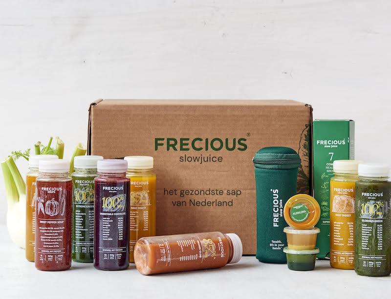 frecious, groentesap, detox, gezond