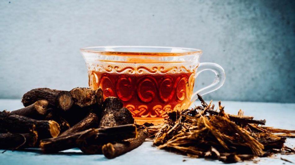 zoethout thee, gezond, ayurveda