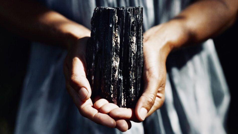 shungite, steen, zwart, wifi, straling