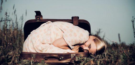 dennis buist, koffer, emoties, wegstoppen