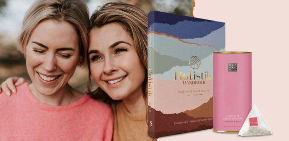 Holistify je leven met het Holistik Handboek en krijg een blikje organic thee van Rituals cadeau