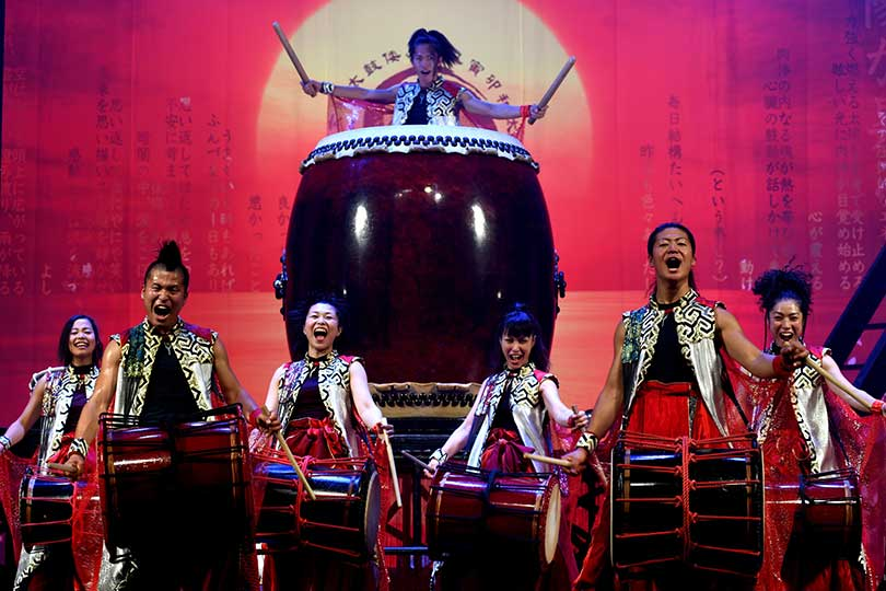 Yamato, drummers of Japan