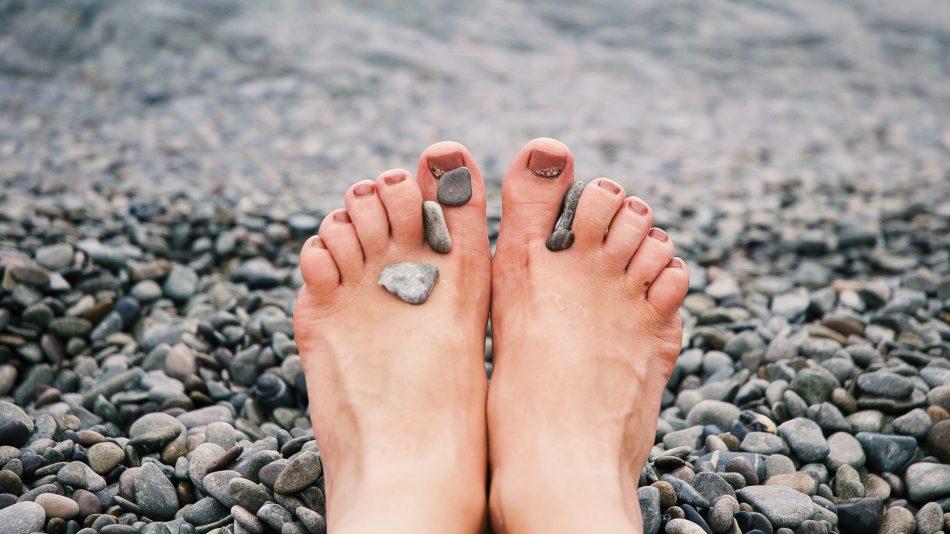 voeten masseren