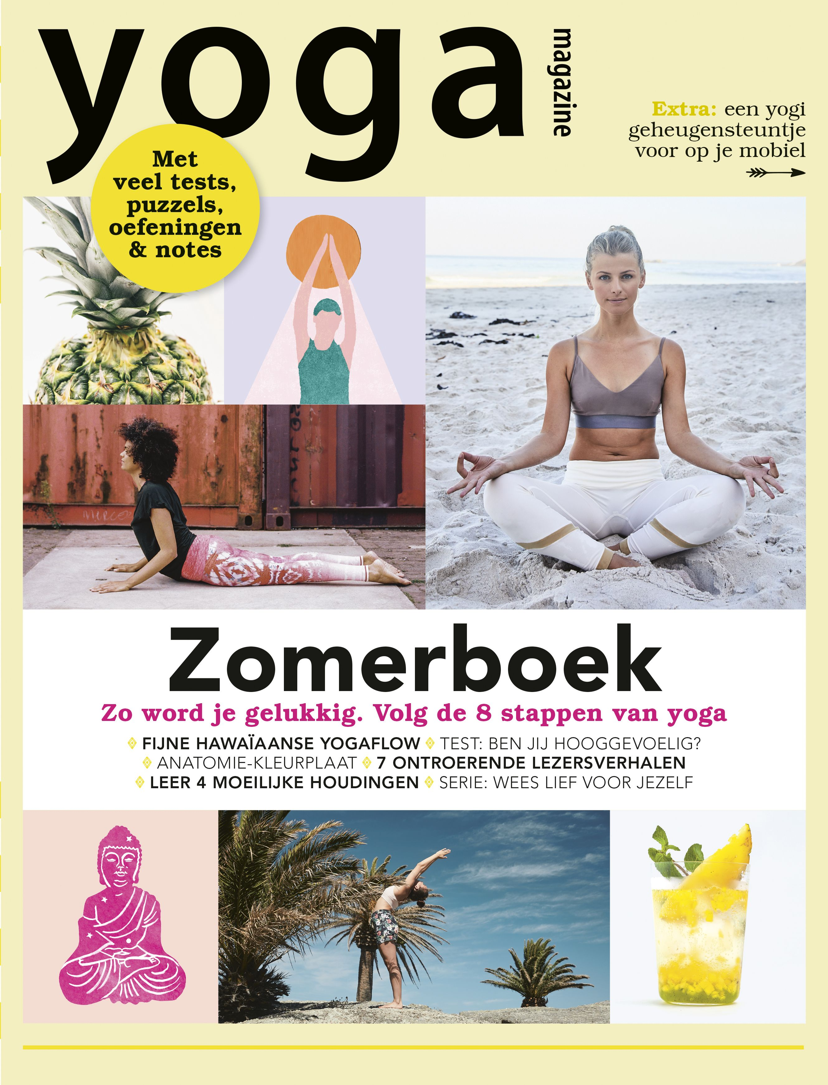zomerboek, yoga magazine, sutra's, patanjali, achtvoudige pad, filosofie, yoga