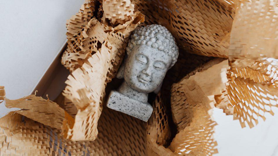 boeddha schoonmaken
