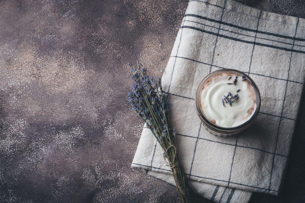 lavendel latte