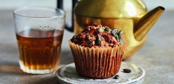 Recept: Ayurveda wortel- en gembermuffins van Jasmine Hemsley