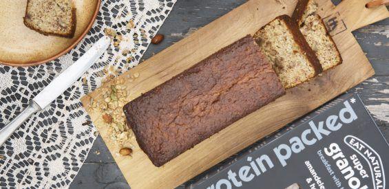 Recept: bananenbrood met extra proteïnen als bonus
