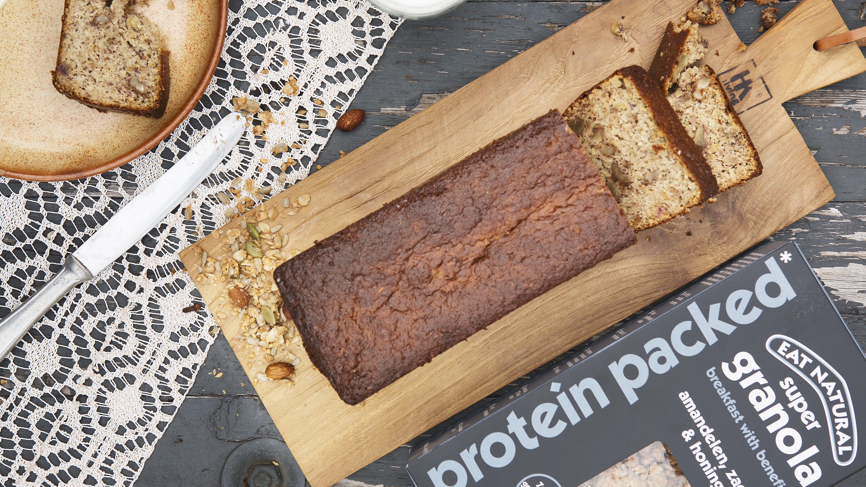 bananenbrood proteine granola