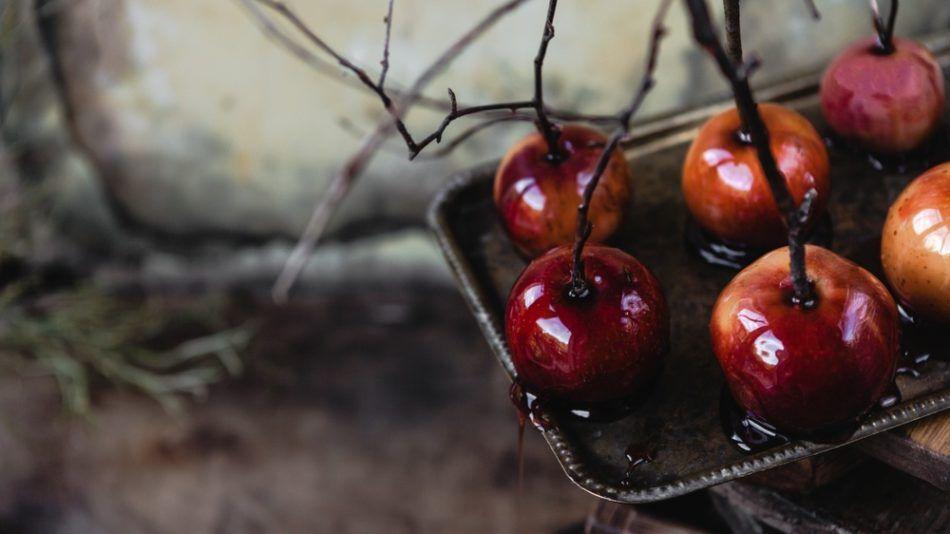 gekarameliseerde appels