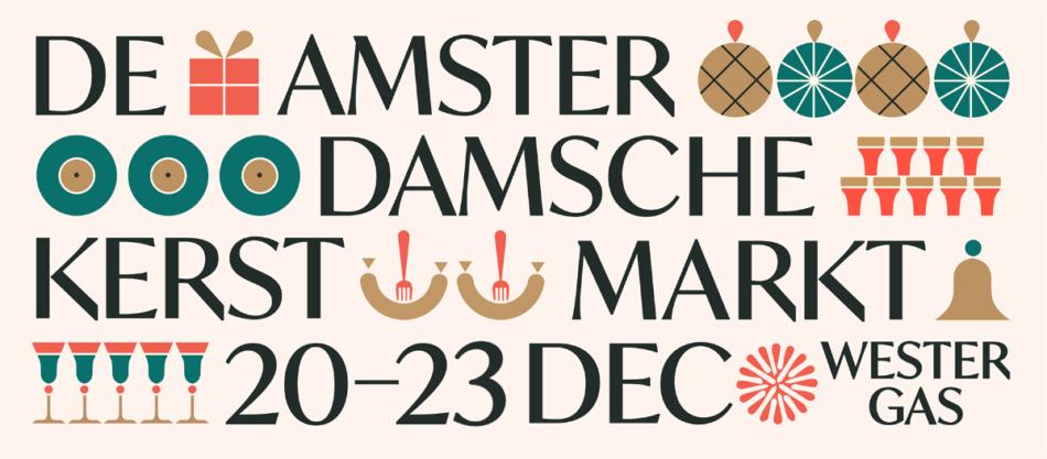 De Amsterdamsche Kerstmarkt – Westergas (gratis entree)