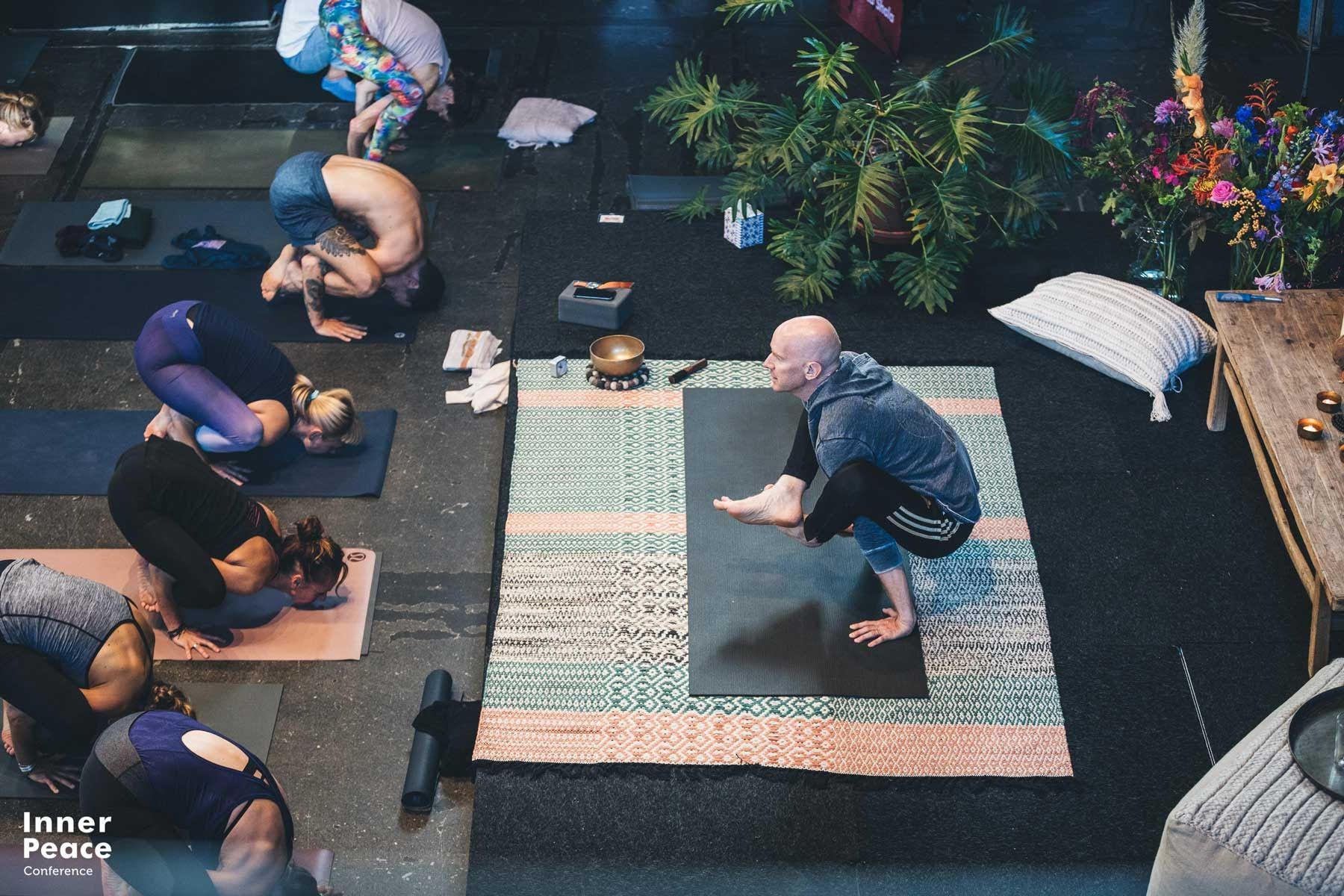eddie stern, inner peace conference, yoga