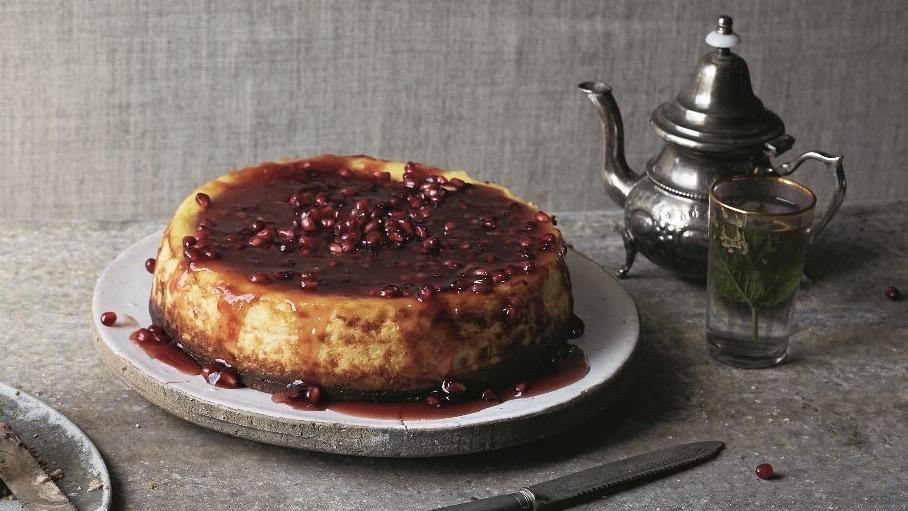 granaatappelcheesecake
