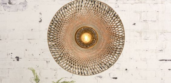 Verlopen – WIN: duurzame bamboe wandlamp van Wooden Amsterdam t.w.v. €148