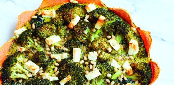 Vega weekendrecept: groentetaart met zoete aardappel in de hoofdrol