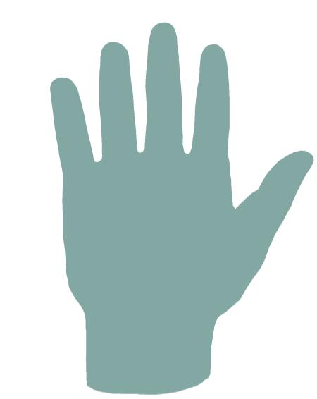 aarde hand, vuurhand, handen, handlezen, psychologie, lijnen