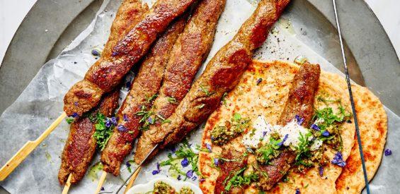 Arabisch recept: vega kebab van paddenstoelen en cashewnoten