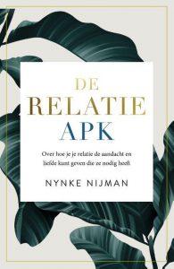 nynke nijman, relatietherapeut, boek, relatie APK