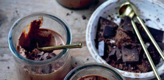 vegan chocolademousse