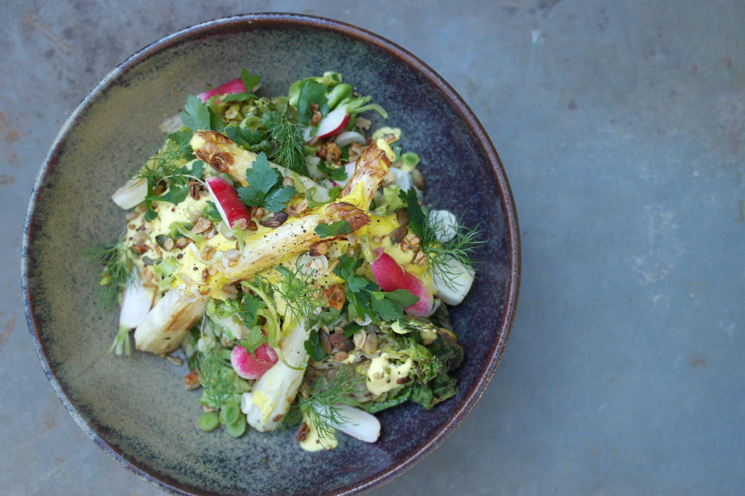 asperges, recept, vegan, bij de tuinman, de hoorneboeg