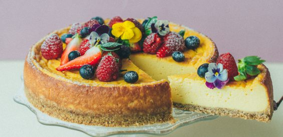 recept gebakken cheesecake