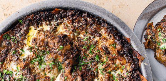 Weekend recept van Ottolenghi: pittige paddenstoelenlasagne