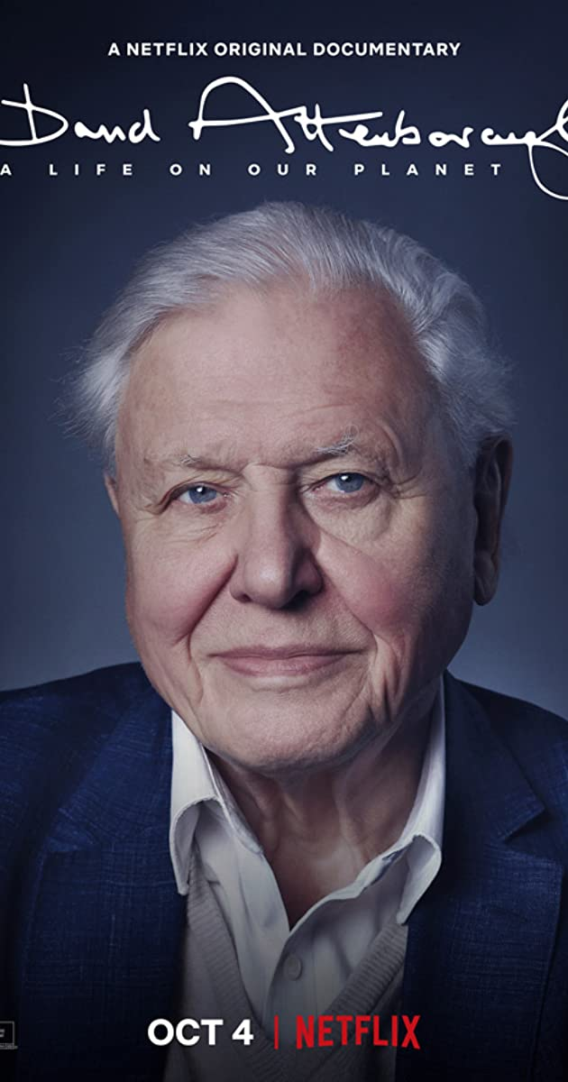 a life on planet earth, david attenborough