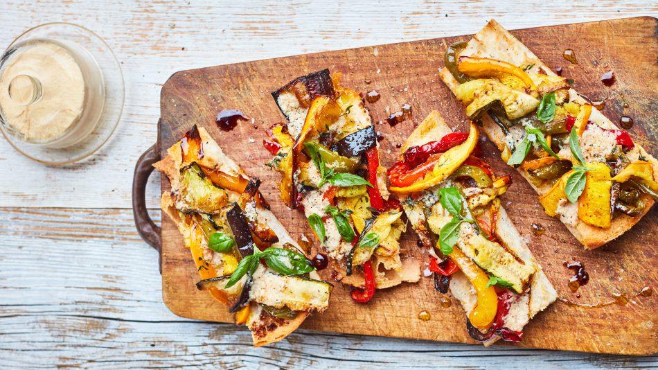 bruschetta recept veggies & fish