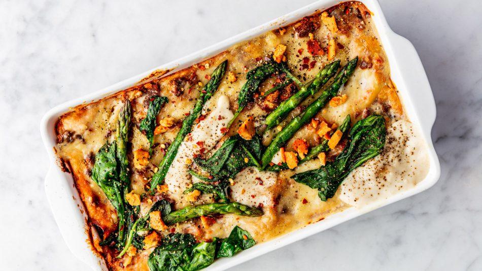 vegan lasagne living the green life