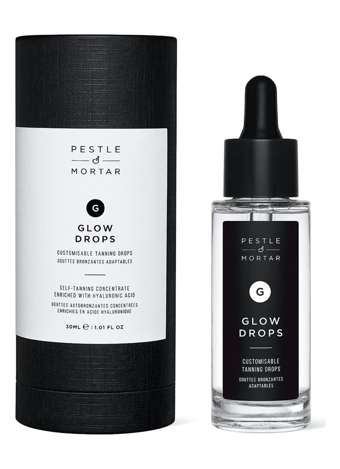 pestle mortar glow drops
