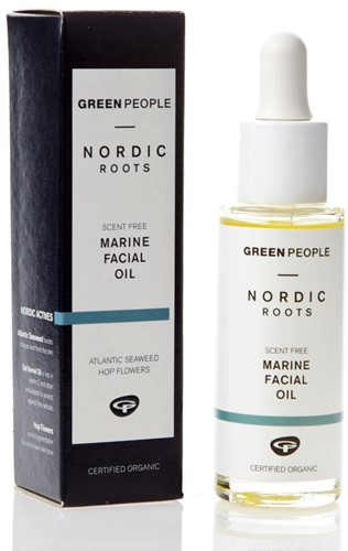 green people marine facial oil