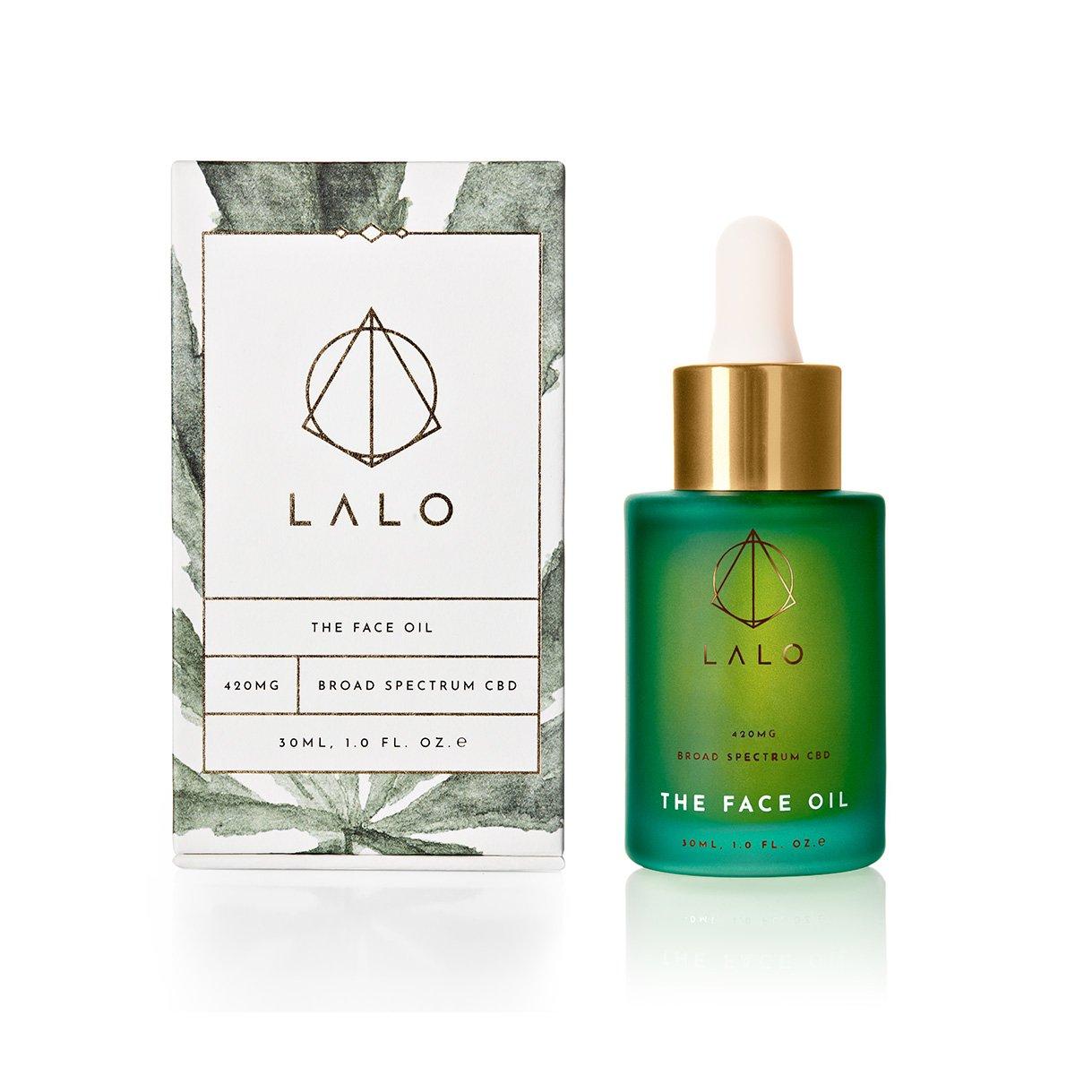 lalo, cbd, face oil, skincare