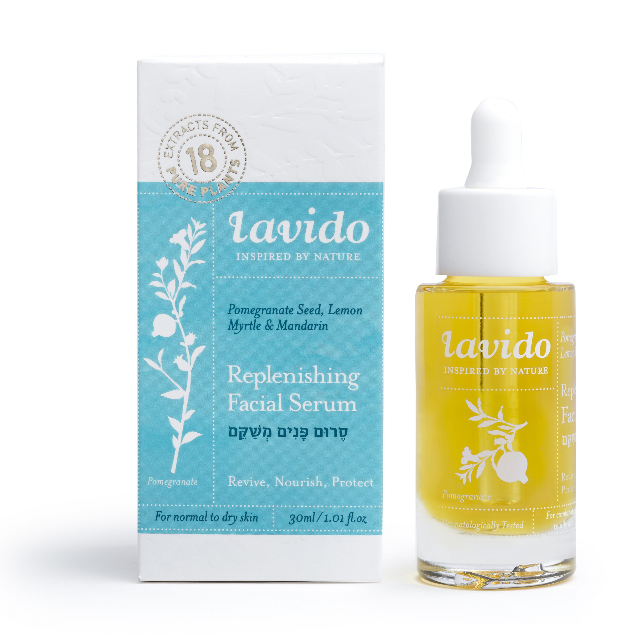 lavido, face oil, Replenishing Facial Serum